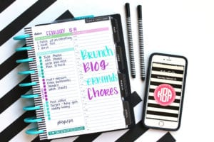 Happy Planner Daily Planning Sheets